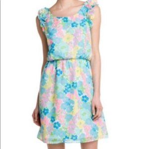 Lilly Pulitzer danna resort floral dress